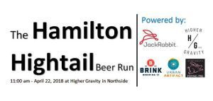 Hamilton Hightail Beer Run @ Higher Gravity | Cincinnati | OH | United States