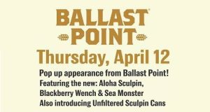 Ballast Point - Willett Sea Monster Takeover @ Higher Gravity | Cincinnati | OH | United States