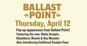 Ballast Point - Willett Sea Monster Takeover @ Higher Gravity | Cincinnati | OH | United States